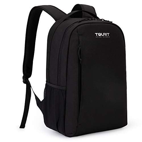 TOURIT Cooler Backpack Leakproof Insulated 28 Cans Lunch Backpack with Cooler for Men Women to Picnics, Camping, Hiking, Beach, Park or Day Trips (Black)