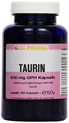 Gall Pharma Taurin 500 mg GPH Kapseln, 180 Kapseln