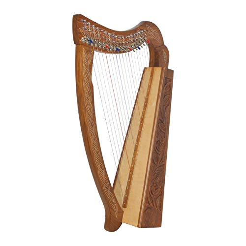 Roosebeck 19-String Pixie Harp w/Shelby Levers