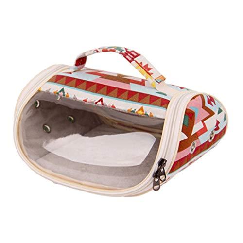 VVXXMO Hamster Bird Carrier Travel Bag,Bolsa de salida transpirable,Chinchilla Ferret bolsa de transporte