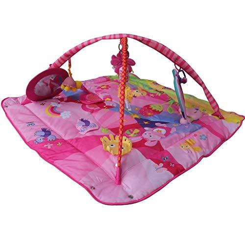 Landau JM Bébé Ramper Jeu Pad Multifonctionnel Bébé Puzzle Jeu Couverture Fitness Cadre Sleeping Pad Enfants Taille des Jouets (110 * 110 * 40CM) ( Color : A )