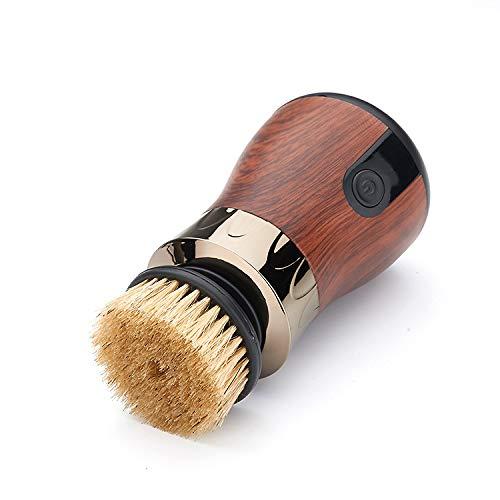 Multifunktionale Elektrisch Schuhputzmaschine, Lederbürste Schuhe Polieren Schuhpflege Bürste Reinigungsbürste Poliermaschine Bürste Ledertasche Sofa Auto Sitzkissen Pinsel