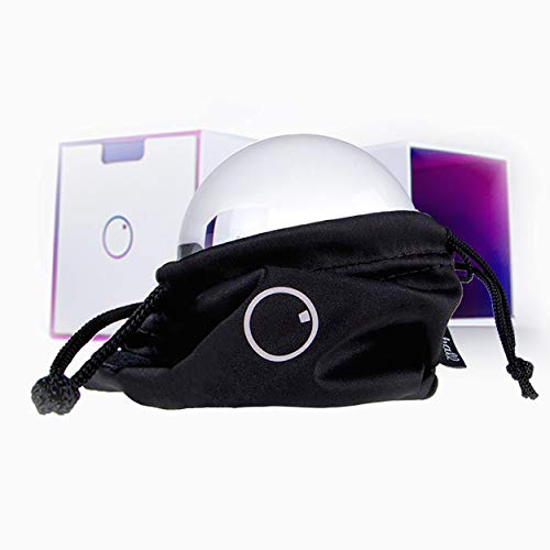 Original Lensball Pocket 60mm, K9 Clear Crystal Ball Photography Sphere with Microfiber Bag