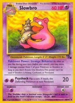 Golbat Uncommon Pokemon Card 1st Edition Fossil Series 34//62