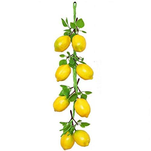 Casecover Simulation Frucht, Zitrone, Bratspieß Gemüse Spiess Farmhouse Restaurant Hotel Restaurant Technik Soft-Dekoration Fotografie Props 1pc