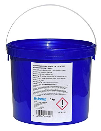 YACHTICON Nachfüllgranulat für Luftentfeuchter 5kg