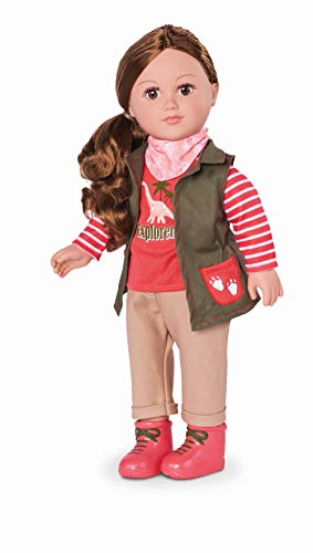 myLife Brand Products My Life As Poseable 18' Dinosaur Explorer Doll - Brunete