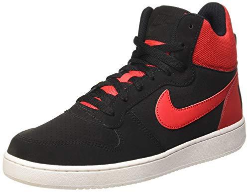 Nike Court Borough Mid, Zapatillas Altas para Hombre, Negro (Black / Black), 45.5 EU
