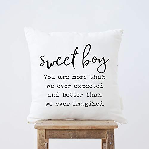 Funda de almohada para mamá y papá Sweet Boy You Are More Than We Ever Esperted