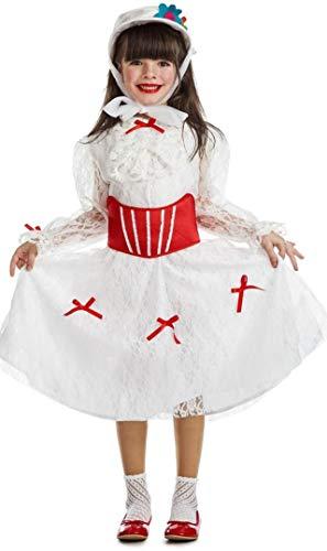 Mary Poppins Disfraz de Niñera Victoriana para niña