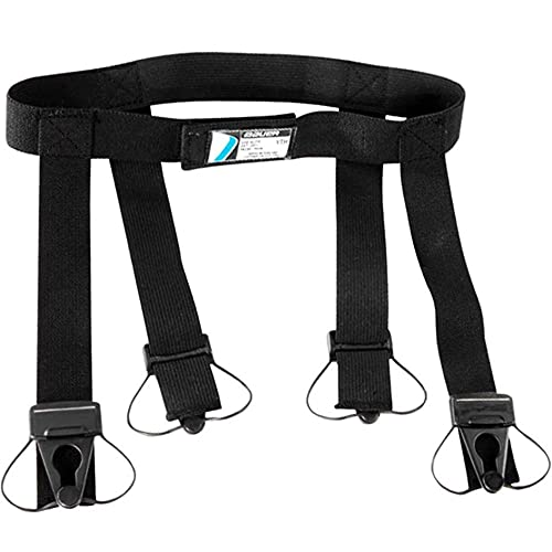 Bauer Youth Garter Belt, Black, X-Large