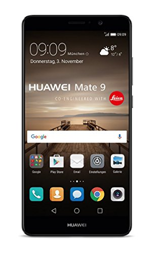 Huawei Mate 9 5.9' SIM Doble 4G 4GB 64GB 4000mAh Negro - Smartphone (15 cm (5.9'), 64 GB, 20 MP, Android, 7.0, Negro)