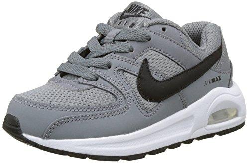 Nike Air Max Command Flex, Scarpe da Ginnastica Basse Unisex - Bambini, Multicolore (Cool Grey/Black/White), 27.5 EU
