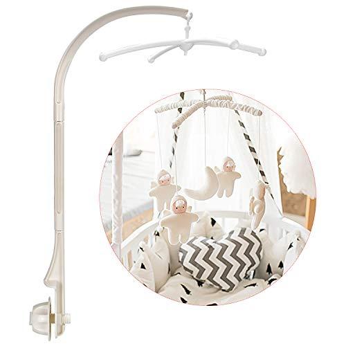 DESON Bebissäng mobilhållare spjälsäng armfäste sängkläder dekoration för baby pojkar och flickor