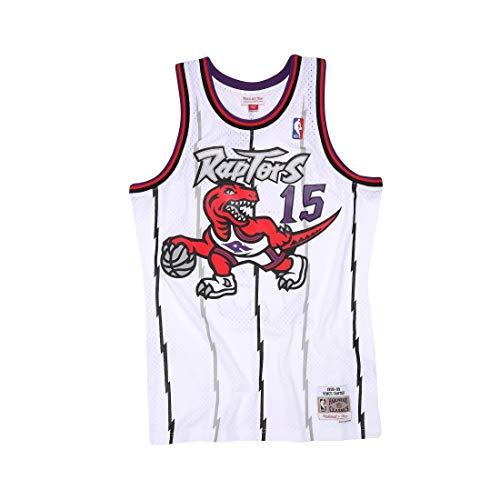 Mitchell & Ness Toronto Raptors Vince Carter 1998 Road Swingman Jersey (X-Large)