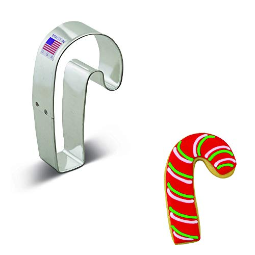 Ann Clark Cookie Cutters Candy Cane Cookie Cutter, 3.5""