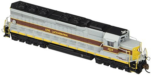 Bachmann Trains Industries Erie Lackawanna #3619 EMD SD45 DCC Sound Equipped Diesel Locomotive Train (N Scale)