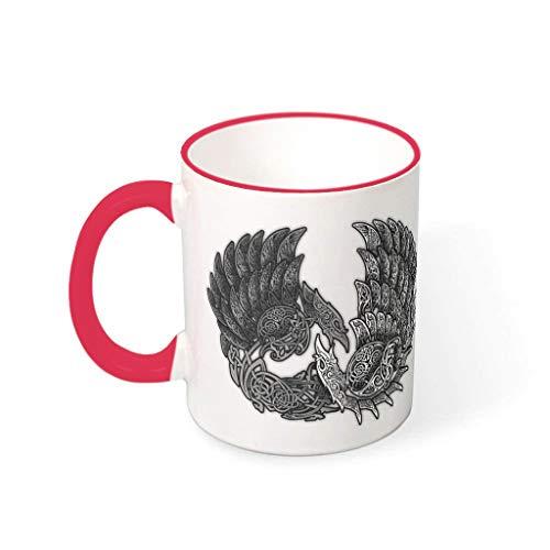 Taza de café de cerámica lisa Personalized Mug – Navidad presente red1 330 ml