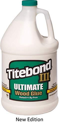 Titebond 1416 III Ultimate Wood Glue, 1-Gallon, New Edition