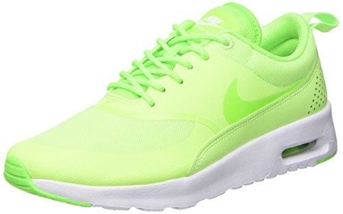 Nike Women's WMNS Air Max Thea Gymnastics Shoes, Green (Ghost Green/Elctrc Green/White), 4.5 UK