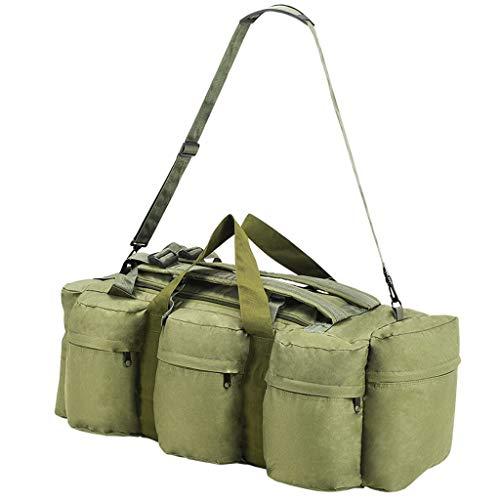 Festnight Army-Style Duffel Bag 85 L Olive Green