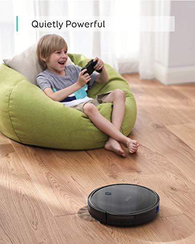 eufy by Anker Saugroboter RoboVac 11S MAX, Roboterstaubsauger mit BoostIQ, extrem schlank, 2000Pa Saugkraft, geräuscharm, selbstaufladend, mit 3 Reinigungsstufen, für Hartböden bis mittelhohe Teppiche - 4
