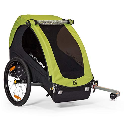 Great Deal! Burley Minnow, 1 Seat, Lightweight, Kids Bike-Only Trailer