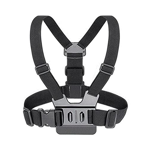 kdjsic Imbracatura per Cintura per Corpo della Fotocamera ad Azione Elastica per Montaggio su Fascia Toracica per Go-PRO Hero 5 4 3+ 3 Go-PRO 6