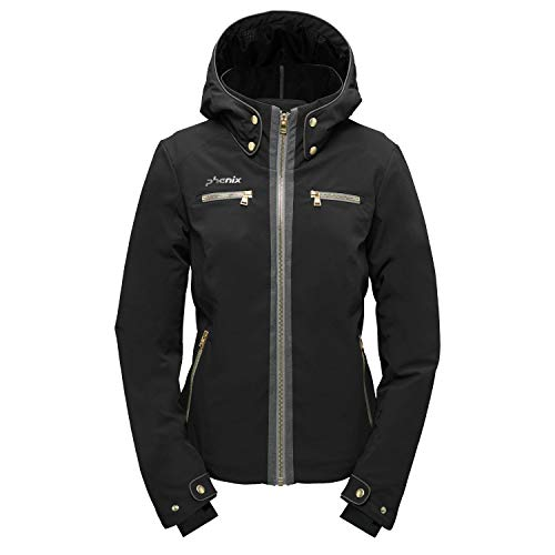 Phenix Nekoma Jacket Damen Skijacke schwarz (38)