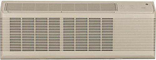 """GE AZ65H12DAB 42"""" Zoneline Series Air Conditioner with Heat Pump, Makeup Air, 12100 BTU Cooling Capacity, Sleep Mode, and Freeze Sentinel: Bisque"""