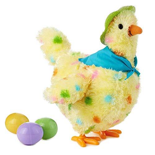 KJSMA Juguete De Gallina Huevos De Gallina Huevos De Peluche