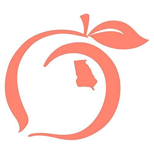 georgia peach decal - 3