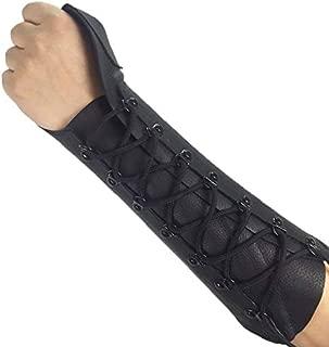 ArcheryMax Handmade Leather Arm Guard Bow Hand Shooting Glove