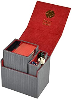 Gray Dex Protection Pro Line Small Card Deck Storage Box