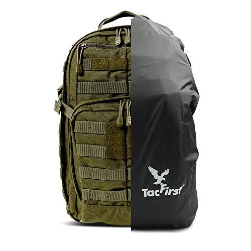 5.11, TacFirst Komplettpaket aus Rush 12 Rucksack und Schutzhülle (TAC OD (188))