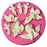 ODN Engel Baby Silikon Form Gumpaste Schokolade Fimo Clay Süßigkeiten Formen Fondant Kuchen...