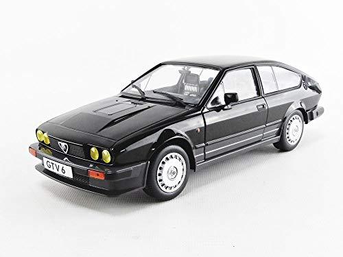 Solido Alfa Romeo GTV6-BLACK METALLIC-1/18-S1802302 - Coche