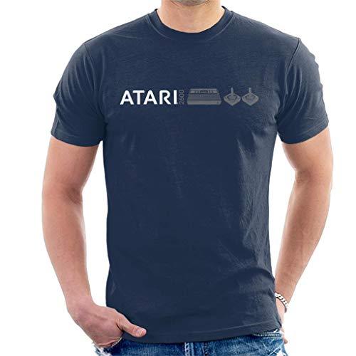 Atari 2600 Slim Logo Men's T-Shirt