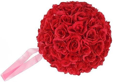 Wedding Rose Foam Flowers Ball For Flower Kissing Balls Party Home Garden Decor