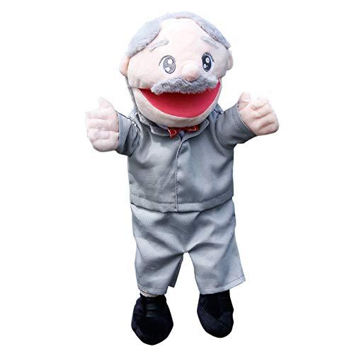 fdaf Juguetes de peluche Juego de rol de boca abierta Personajes profesionales Marionetas de mano Juguetes para niños D