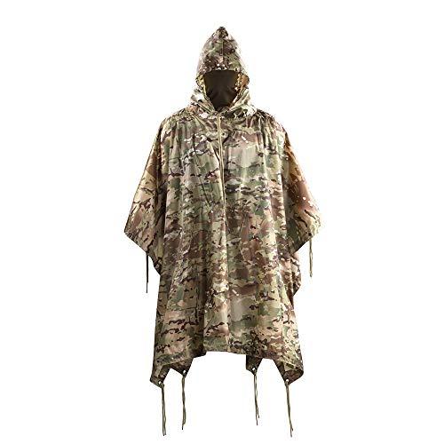 M-Tac Wasserdichter Poncho / Regenschutz, Camouflage-Muster