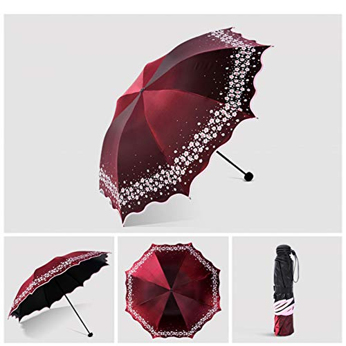 SHILILI Automatikschirm Damenschirm Regen Damen Jungen Regenschirm Großer Wasserdichter Regenschirm Damen