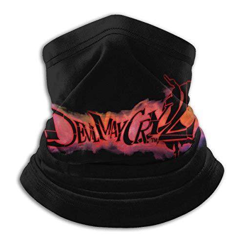 Devil May Cry Series AnimeUnisex multifuncional al aire libre a prueba de polvo cara Mas-K microfibra cuello polaina cuello calentador bufanda pasamontañas