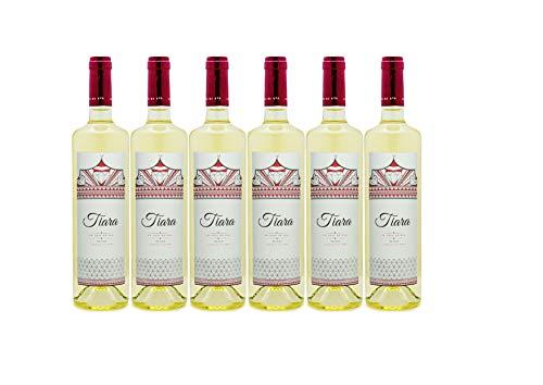 Pack 6 botellas BODEGAS TIARA Vino Blanco Eva Tiara Semi Dulce