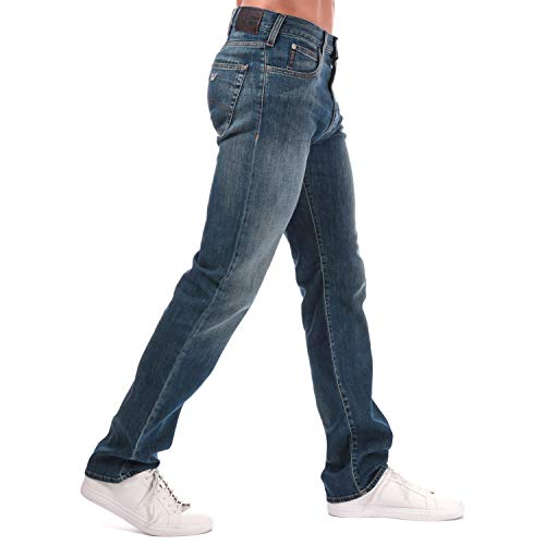 Armani Jeans J31 Classic - Jeans da uomo, taglio regular Jean Denim 36'