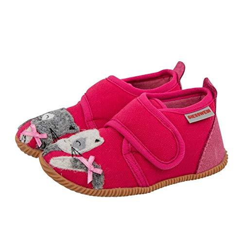 GIESSWEIN Baby-Mädchen Schortens Lauflernschuh, Himbeer, 24 EU