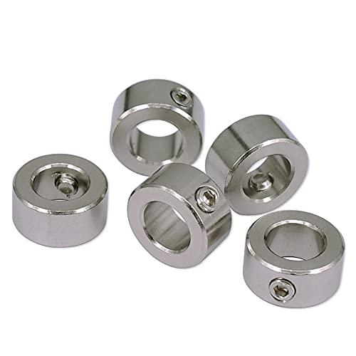 4/10PCS 3D Printer Lock Ring T8 Screw Lock Ring Lock Block Isolation Column 8MM Stop Ring Stainless Steel Stop Ring-10PCS