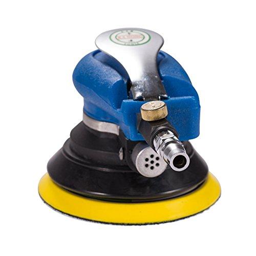 Ponceuse orbitale électrique Jscarlife de 12,7 cm - Pour polir les voitures, bateaux ou motos - Nécessite un compresseur d'air