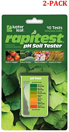 Best Price! 1612 Rapitest pH Soil Tester (Soil Test Kit for pH (2-Pack))