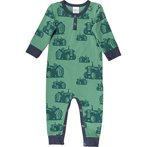 Fred'S World By Green Cotton Farming Bodysuit Body, Vert (Green 018602201), 68 Bébé garçon